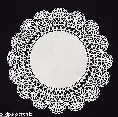 Sweet Creations 24 Count Round Lace Paper Doilies 8 inch