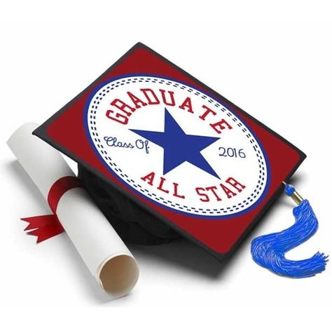 Graduate All Star Grad Cap Tassel Topper - Tassel Toppers - The Professional Way to Decorate Your Grad Cap - 1