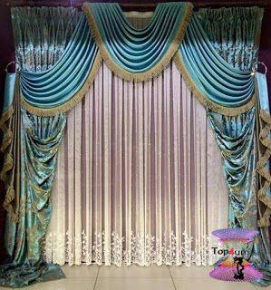 احدث كتالوج صور ستائر صالونات بتصميمات مودرن وكلاسيك 2020 Top4 Elegant Curtains Curtain Designs Beautiful Curtains