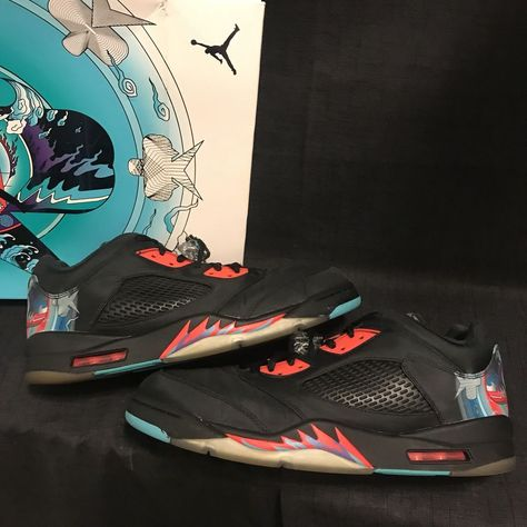 61bac9245b1 Air Jordan 5 V Retro Low CNY Chinese New Year Size 13 #fashion #clothing  #shoes #accessories #mensshoes #athleticshoes (ebay link)