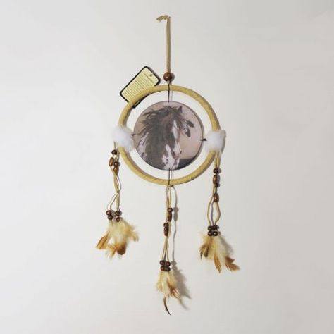 Dreamcatcher Small Wild Spotted Horse Feather In Mane Interesting Small Dream Catchers For Sale