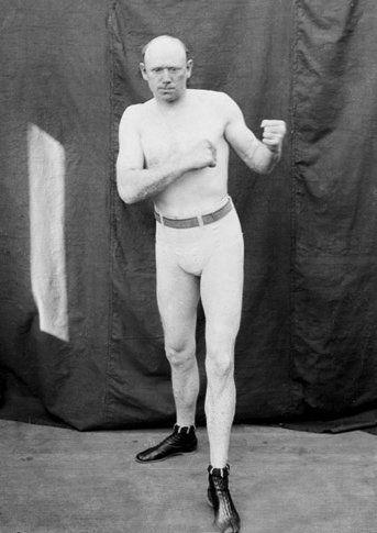 Heavyweight Title Fight JIM JAMES CORBETT vs BOB FITZSIMMONS Glossy 8x10 Photo