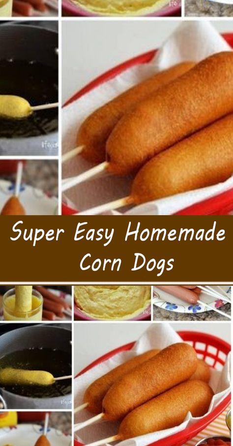 Hot Dog Recipes, Pork Recipes, Recipies, Appetizer Recipes, Snack Recipes, Dinner Recipes, Cooking Recipes, Hot Dog Sausage Recipe, Corndog Recipe
