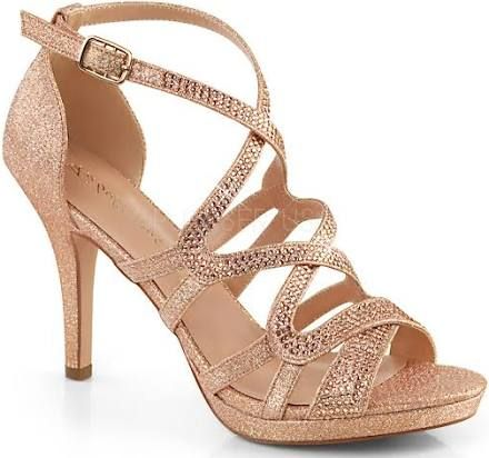 strappy 3 inch heels | Gold shoes heels