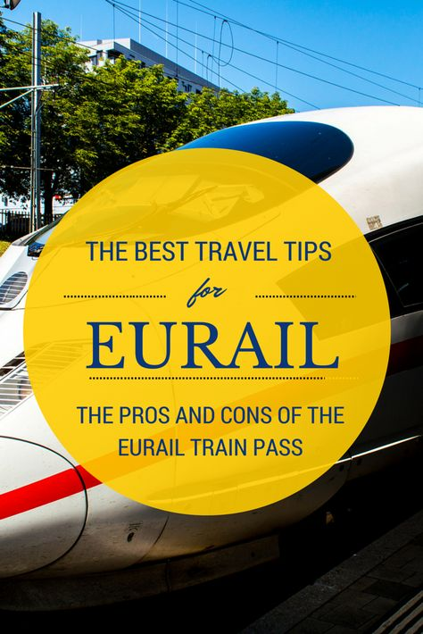 The best travel tips for train travel in Europe with Eurail