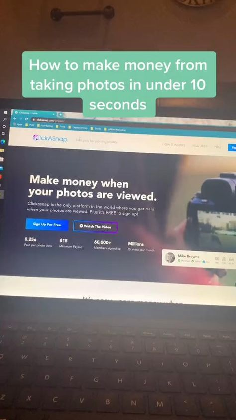 Make Money By Taking Pictures