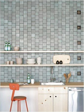 Installation Inspiration Heath Ceramics 4x4 Layered Glaze Tiles Chalk Gunmetal With 4x4 Eames House Number Tiles Mu Heath Tile Eames House Heath Ceramics