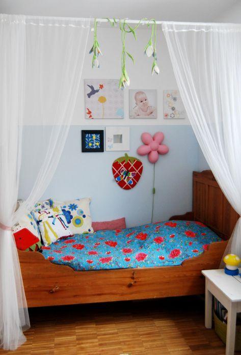 Bett für kleine Prinzessinnen