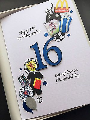 Personalised 13th 14th 15th 16th Birthday Card For Boys Son Grandson Gift Boxed Cards Statio 16th Birthday Card 18th Birthday Cards Birthday Cards For Boys