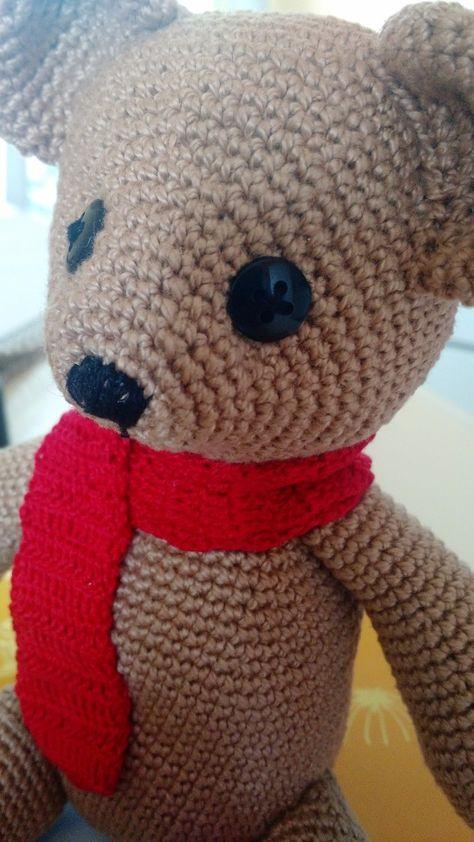 Urso Teddy Marrom - Amigurumi no Elo7 | Atelier Bella Sissi (9285E6) | 842x474