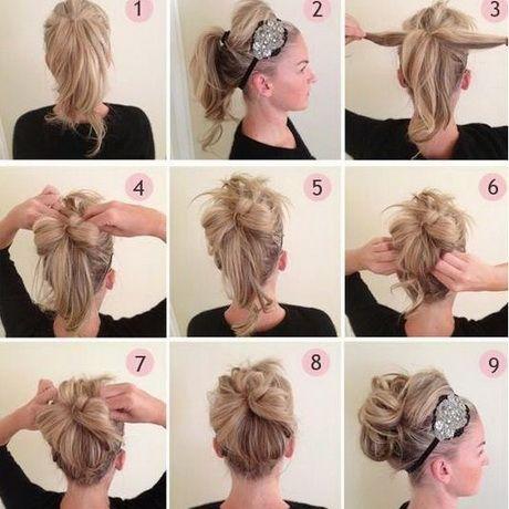Coiffure De Fete Cheveux Mi Long Coiffure Facile Coiffures Simples Coiffer Cheveux Mi Long