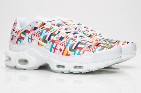 new arrival 78b07 15c60 Celebrate The FIFA World Cup With This Nike Air Max Plus International Flag