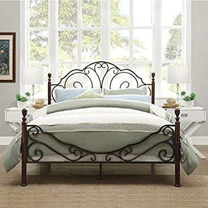 How To Choose Bed Frames With Images Iron Bed Frame Wrought