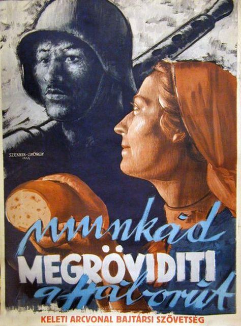 Magyar plakátok a II. világháborúból | Poszter ...