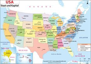Usa Karte Usa Karte Landkarte Landkarte Usa
