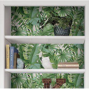 Bay Isle Home Maui Peel And Stick 5 5m X 52cm Wallpaper Roll Wayfair Co Uk In 2020 Wallpaper Roll Home Bay Isle Home