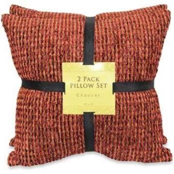 Rust Throw Pillows Google Search Chenille Throw Pillows Rust