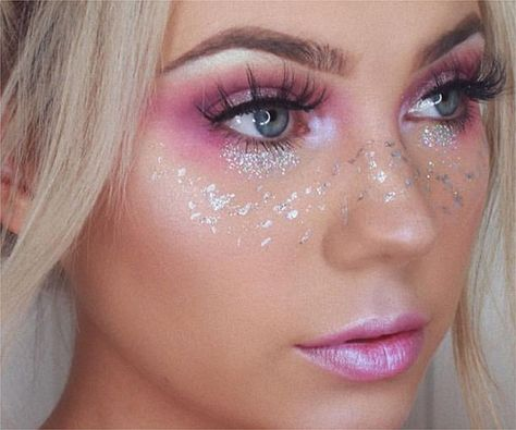 How to create: 3 scintillating unicorn makeup looks - Proarte Fairy Eye Makeup, Unicorn Makeup, Mermaid Makeup, Unicorn Nails, Fairy Costume Makeup, Mermaid Fantasy Makeup, Purple Fairy Makeup, Rave Makeup, Fairy Costumes