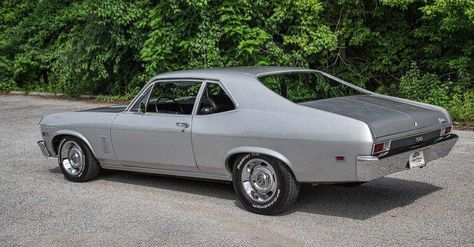 1969 chevy nova ss restored muscle car I had one same color.