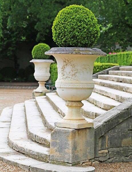 An Architect Picks His Favorite Paris Garden Paris Garden French Garden Boxwood Garden