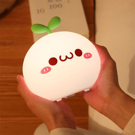 Adorable kawaii USB powered night light ♡ Cute road shape with various designs ♡ White and warm light options ♡ RGB color options ♡ Easy to use switch to change modes! Cute Night Lights, Led Night Light, Choses Cool, Kawaii Bedroom, Apollo Box, Kawaii Accessories, Cute Room Decor, Aesthetic Rooms, Night Lamps