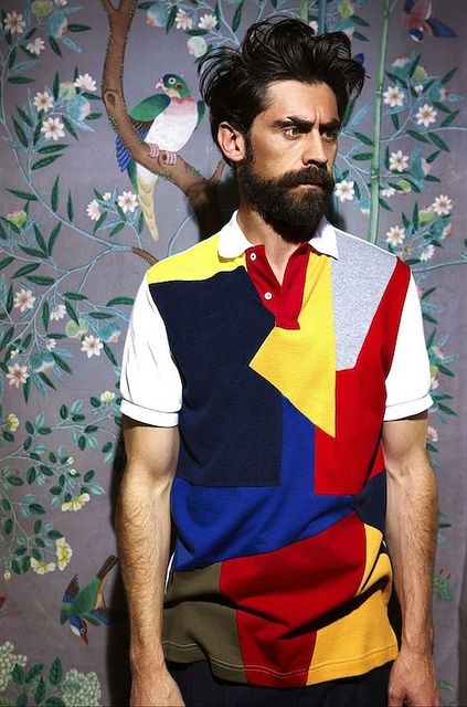 The polo shirt is a classic and versatile wardrobe staple that every guy (and gal!) should have in their closet. However, in recent years, the classic polo has received a make over with color blocking.