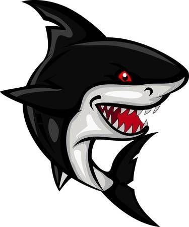 Angry Shark Cartoon Shark Art Shark Pictures Shark