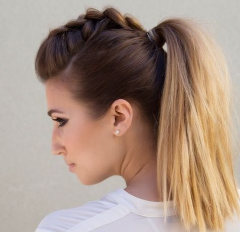 Faux Hawk Ponytail — Confessions of a Hairstylist