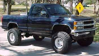 94 Chevy K1500 Lift Kit Chevy Trucks Silverado Lifted Chevy