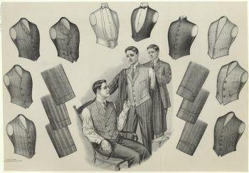 1900s Edwardian Mens Clothing, Costume & Workwear Ideas