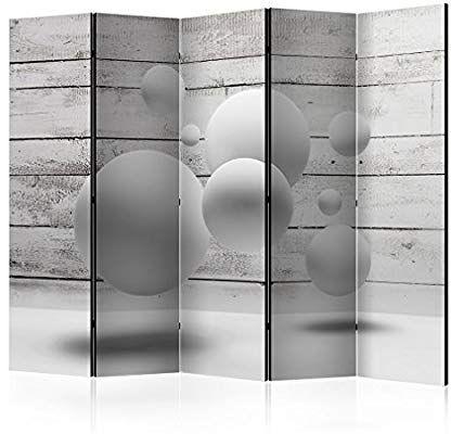 DEKO PARAVENT RAUMTEILER Spanische Wand TRENNWAND weiß FOTO design Wohnzimmer