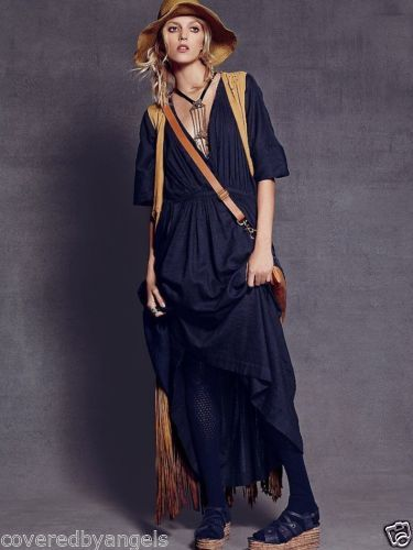 Free People S India Solid Oasis Dress Maxi Greek Black Cotton Linen Kimono Oasis Dress Free People Maxi Dress Dresses