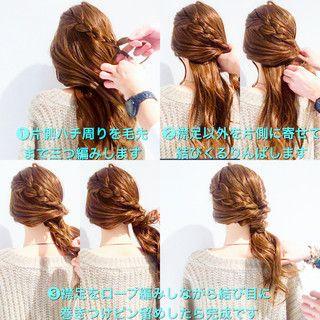 美容師 Hiroさんのスナップ フェミニン ヘアアレンジ ロング ヘア