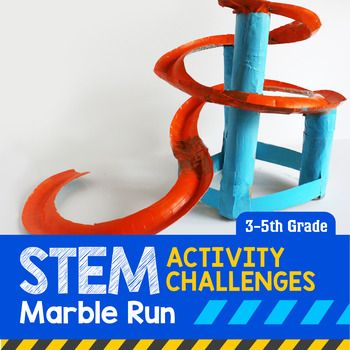 Stem Activity Challenge Marble Run 3rd 5th Grade Stem Activities Challenges Stem Activities Challenges Activities