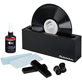 Amazon Com Vinyl Record Cleaning System With Cleaning Solution And Soft Pads Included Studebaker Sb4 Record Cleaner Vinyl Record Cleaning Clean Vinyl Records