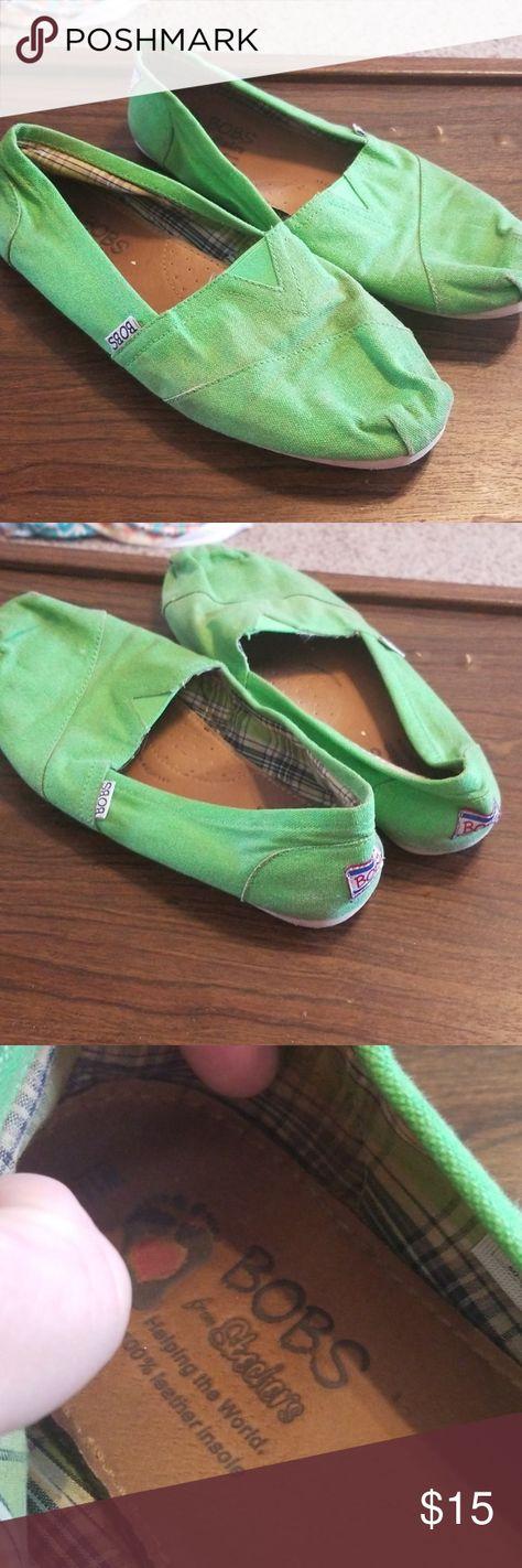 Green Bob's shoes size 11 | Bob shoes
