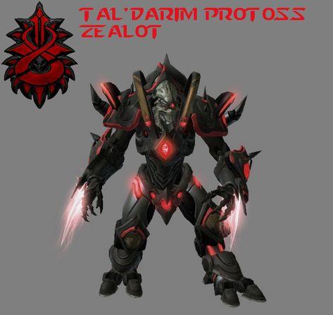 StarCraft 2 - Tal'darim Protoss Zealot (HD) by HammerTheTank on DeviantArt