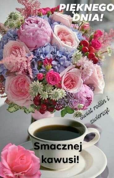 Pin By Stanislawa Kopka On Dzien Dobry Floral Tea Flower Arrangements Diy Flower Arrangements