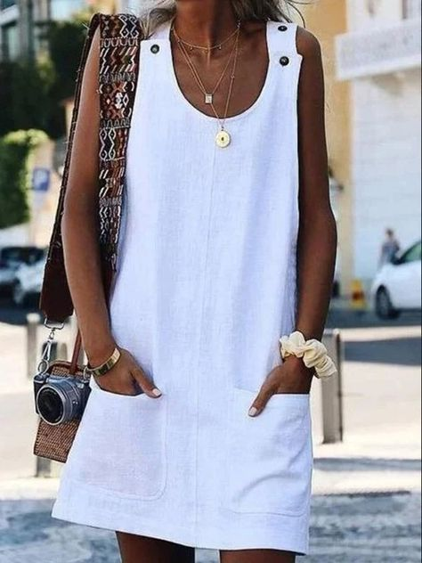 JARTINI Solid Sleeveless Button Mini Dresses – Jartini mini dresses formal mini dresses summer short dresses party fashion dress simple dresses styles dress beautiful vacation clothes dresses#dresses#summerdresses  #outfitsdresses#fashiondress#simpledresses#casualdresses