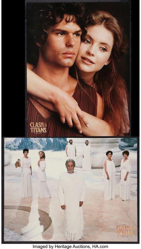 "Clash of the Titans (MGM, 1981). Italian Photobustas (6) (18"" X | Lot #51067 | Heritage Auctions"