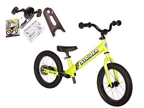 Amazon Com Strider 14x 2 In 1 Balance To Pedal Bike Kit