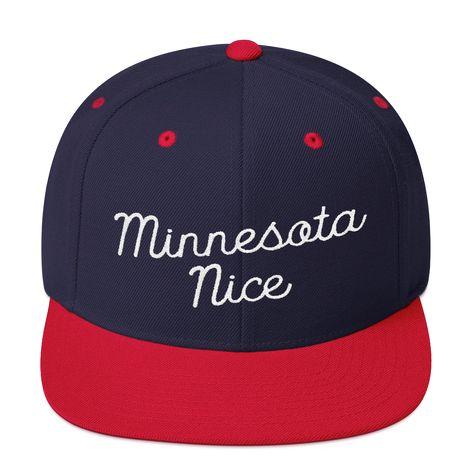 cap Minnesota Nice Snapback Cap in...