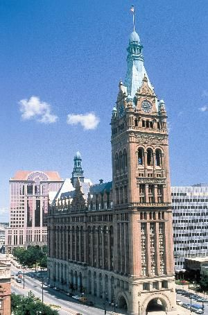City Hall in Milwaukee