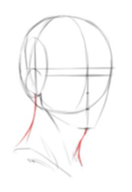 Drawing The Foundations For The 3 4 View Of The Male Head Drawings Art Reference Poses Drawing Meme