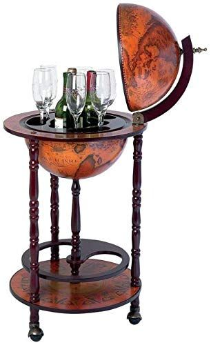 Enjoy Exclusive For Ehomeproducts Sixteenth Century Italian Replica 13 Diameter Old World Map Globe Wine Bar Online Topfashionoutfits In 2020 Home Bar Furniture Wine Cabinets Globe Bar