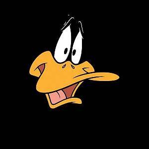 Looney Tunes Daffy Duck Face Women 39 S T Shirt Black Xxl Black Daffy Duck Duck Face Looney Tunes