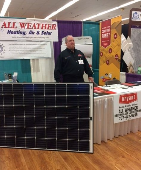 All Weather Heating Air Solar At The Total Home And Garden Show