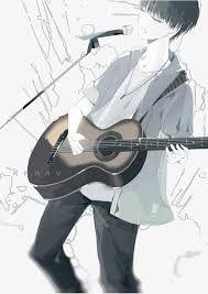Resultado De Imagen Para Anime Tocando Guitarra Guitar Boy Dark Anime Guys Anime Music