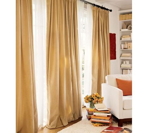 Want To Find Caramel Colored Suede Drapes Perhaps A Little Less