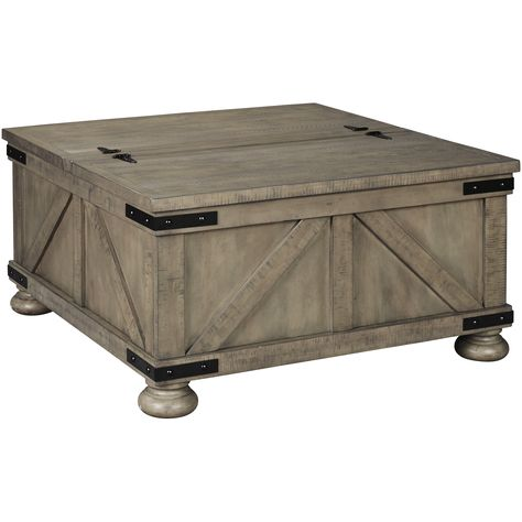 Aldwin Storage Cocktail Table